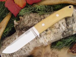 Нож с фиксированным клинком Drop Point Hunter AIM Turquoise Spacers