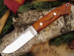 Нож с фиксированным клинком Drop Point Hunter Desert Ironwood