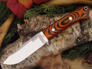 Нож с фиксированным клинком Drop Point Hunter Tigerstripe G-10