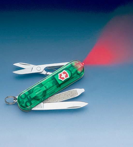 Нож 0.6228.T4 SwissLite Emerald
