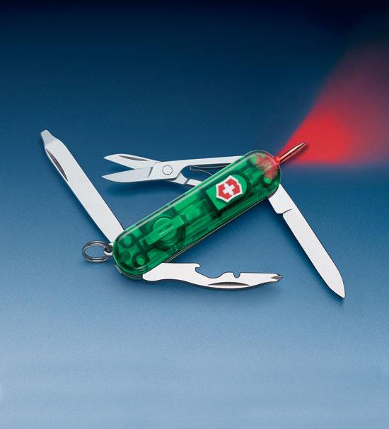 Нож 0.6366.T4 SwissLite Emerald