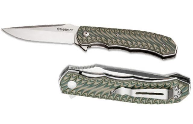 Нож складной Boker Magnum Satin Green 01lg445