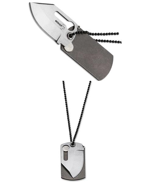 Нож складной Boker Dog Tag Knife 01bo210