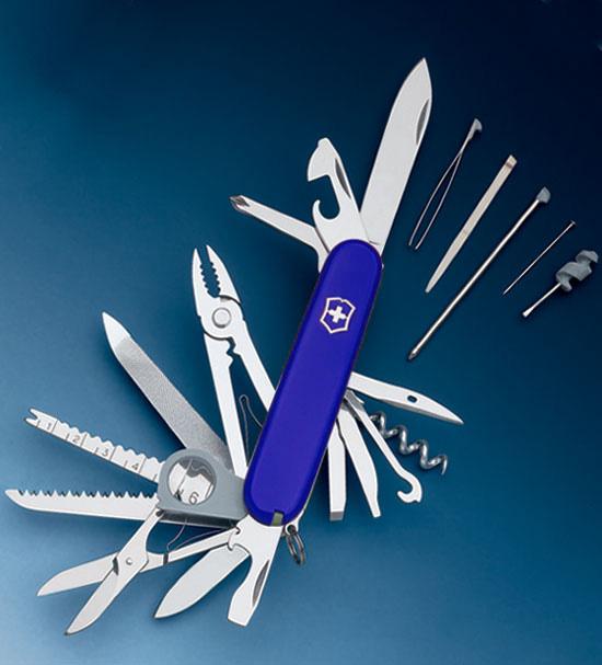 Нож 1.6795.2 SwissChamp