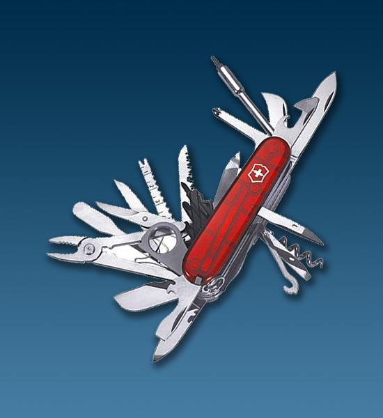 Нож 1.6795.XLT Swiss Champ
