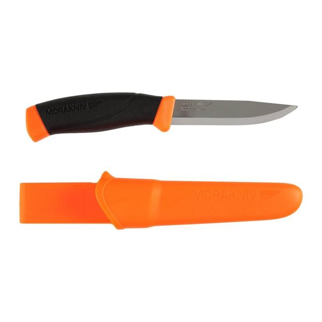Нож Morakniv Companion F Orange, нержавеющая сталь