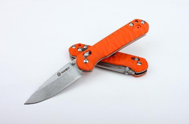 Складной нож G717 (оранжевый)