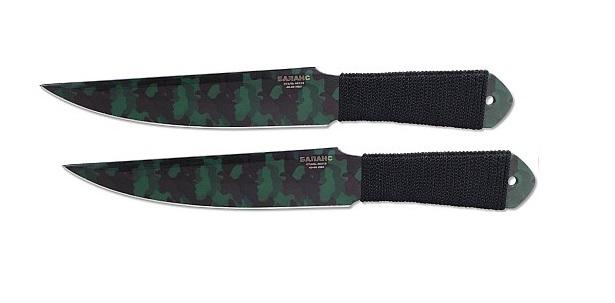 Набор из 2-х метательных ножей M-111-4Н