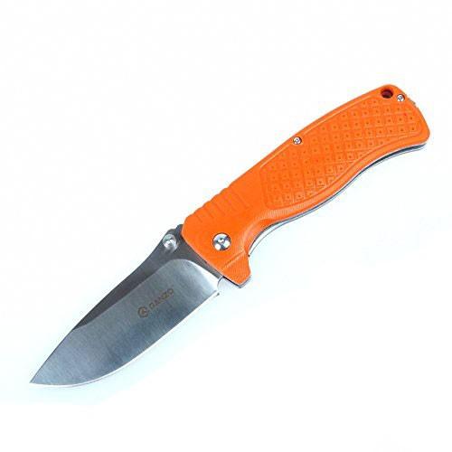 Нож G722 (черный, зеленый, оранжевый)