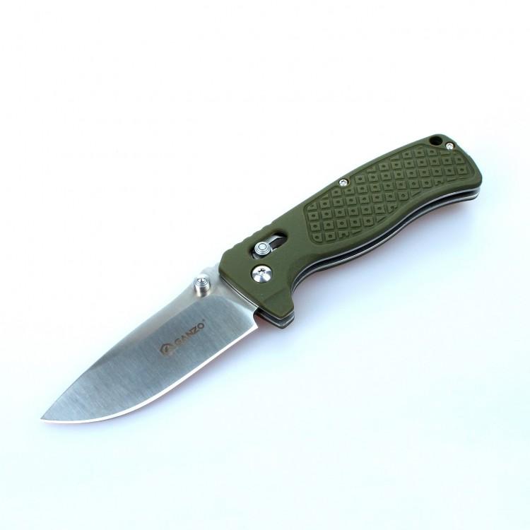 Нож G724M (черный, зеленый, оранжевый)