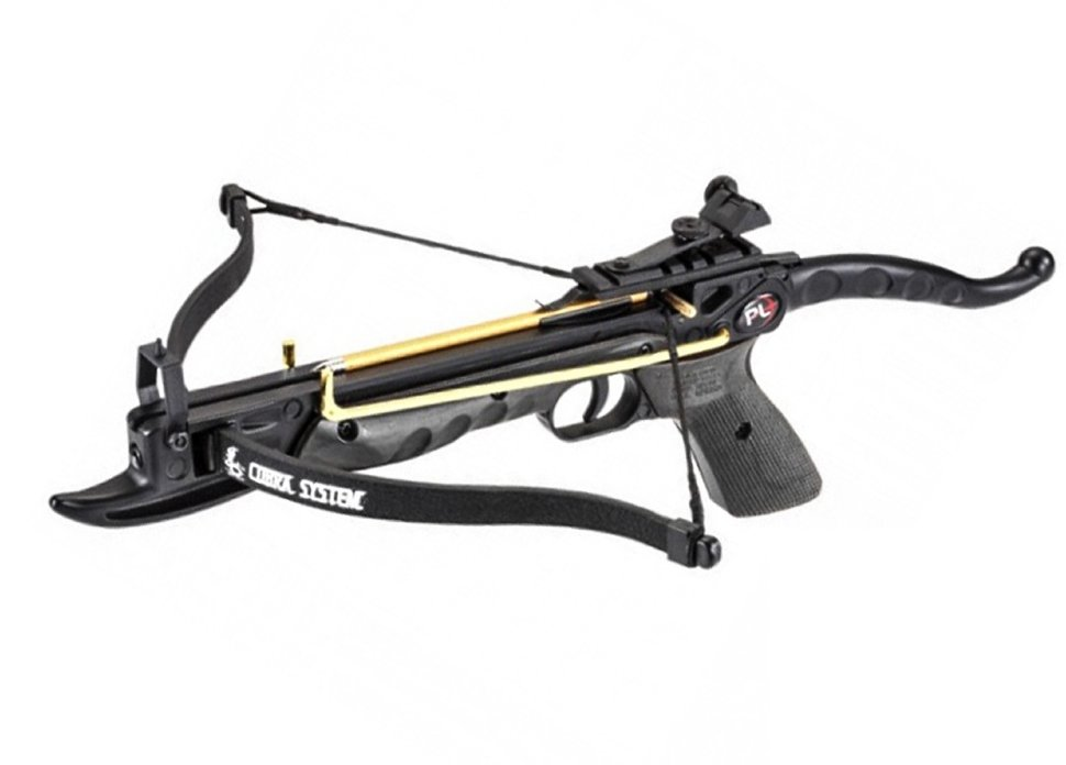 Арбалет-пистолет «Скаут» (Ek Cobra Aluminum) черный, арт. CR-039BK