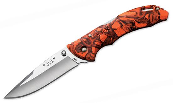 Нож складной BUCK 0286CMS12 Bantam Orange Head Hunterz