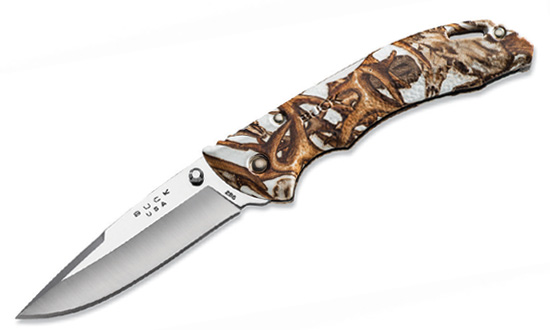 Нож складной BUCK 0286CMS11 Bantam White Head Hunterz