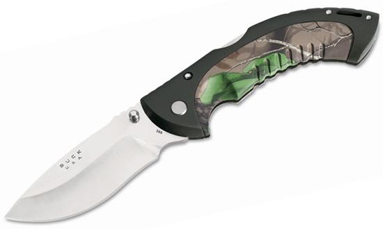Нож охотничий складной 0399CMS Folding Hunter Camo