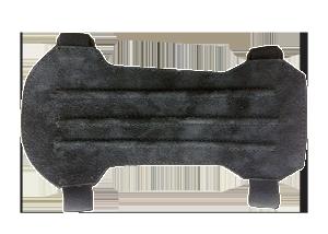 Крага для лука Interloper 20см (черная замша)