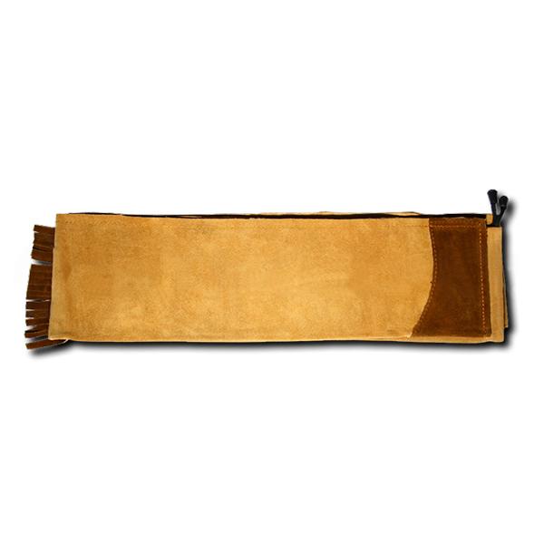 Чехол для традиционного лука long bow (замша)