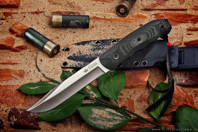 Нож с фиксированным клинком Enzo AUS-8 Satin