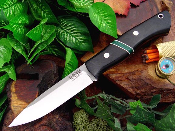 Нож Bark River Aurora модель Jade Malachite Spacer