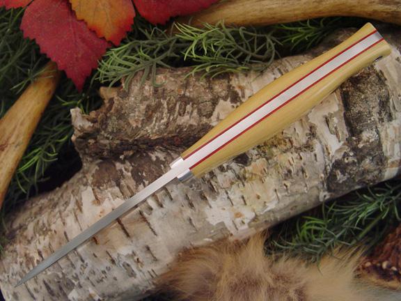 Нож с фиксированным клинком Drop Point Hunter AIM Red Liners