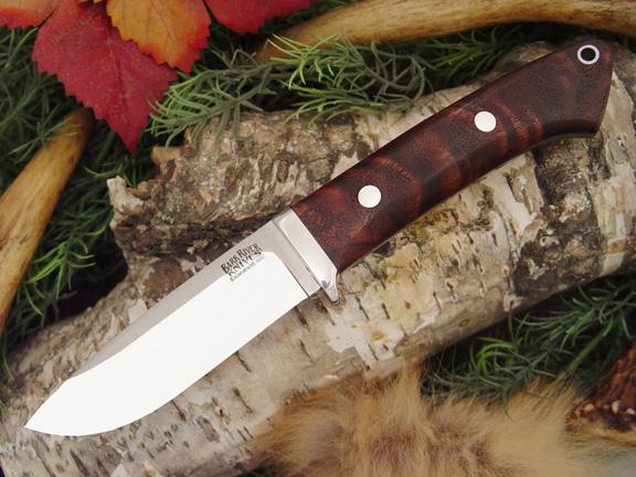 Нож с фиксированным клинком Drop Point Hunter Bastone Walnut