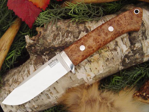 Нож с фиксированным клинком Drop Point Hunter Black Ash