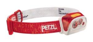 Фонарь налобный Petzl Actik Core E99AB (красный)