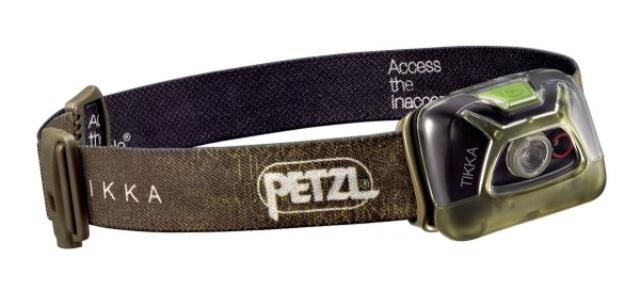 Фонарь налобный Petzl Tikka E93AA (зелёный)