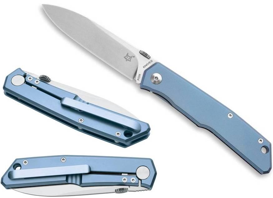 Нож складной Fox knives 525 Ti BL TERZUOLA