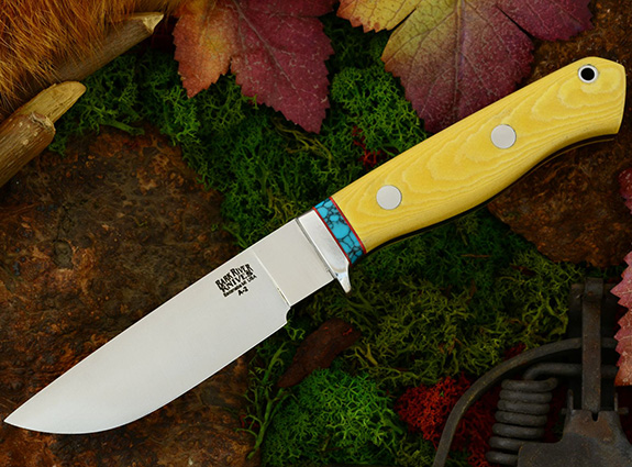 Нож Gameskeeper Antique Ivory Micarta