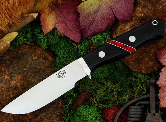 Нож с фиксированным клинком Gameskeeper Black Canvas Micarta Bloody Ja