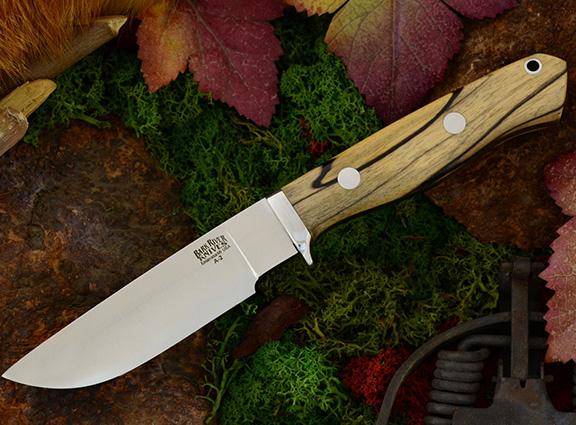 Нож Gameskeeper Black & White Ebony
