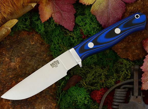 Нож с фиксированным клинком Gameskeeper Blue & Black G-10