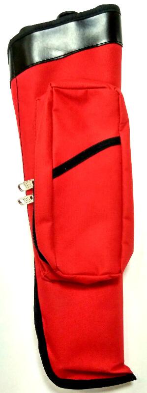 Колчан поясной синтетический T-1 (Красный)