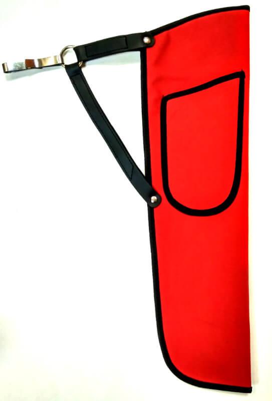 Колчан поясной синтетический T-5 (Красный)
