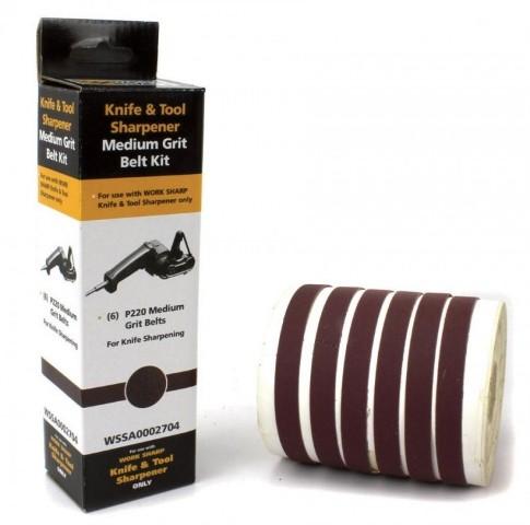 Набор ремней для электроточилки Work Sharp WSKTS P220 DR/WSSA0002704