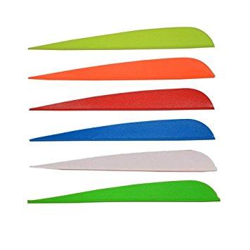Оперение для стрел Flex-Fletch No Prep 418 Parabolic