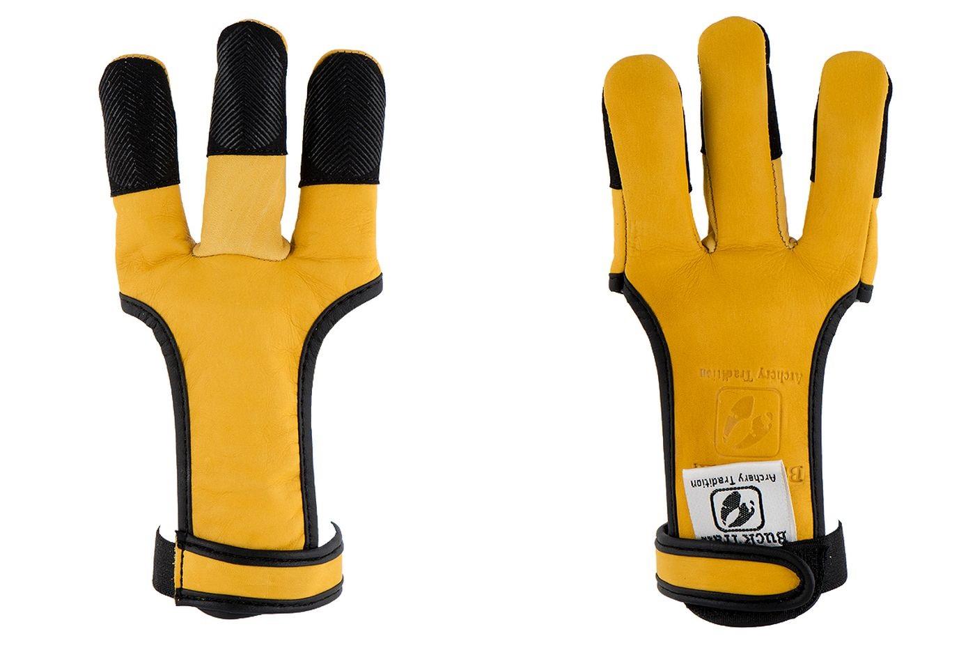 Перчатка для традиционного лука Buck Trail Blend With Black Silicone Fingertips