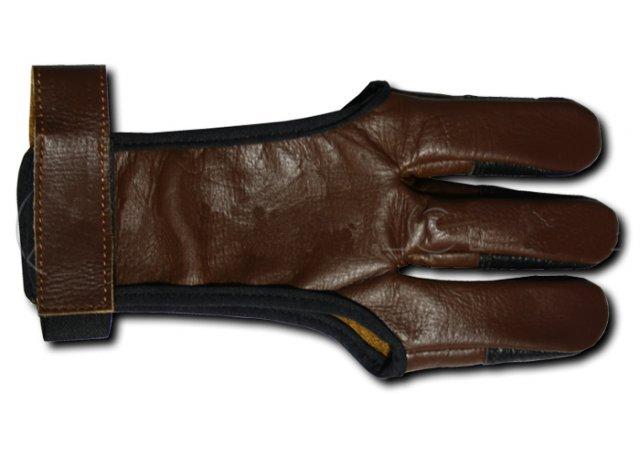 Перчатка для традиционного лука Interloper (кожа) AGL1107M