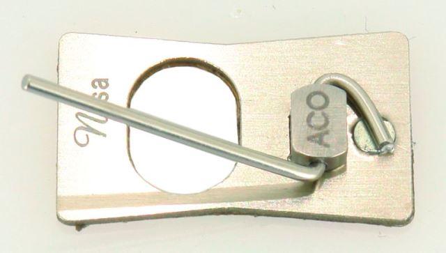 Полочка для классического лука NISA MAGNETIC SILVER