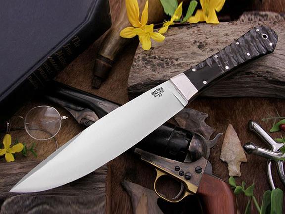 Нож с фиксированным клинком Rogue Impala Horn