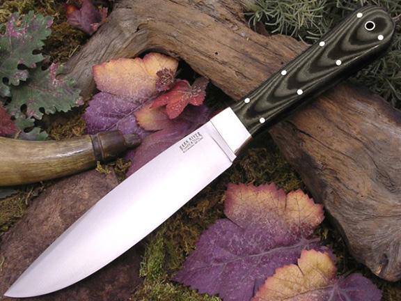 Нож с фиксированным клинком Rogue Midnight Tiger G-10
