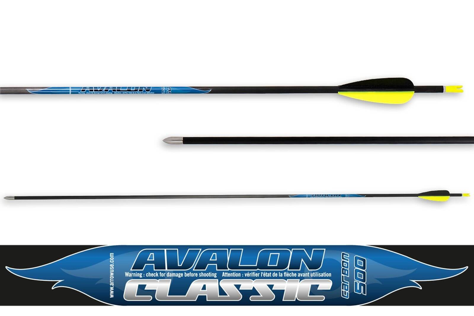 Стрела лучная карбоновая Avalon Carbon Classic 4.2 500