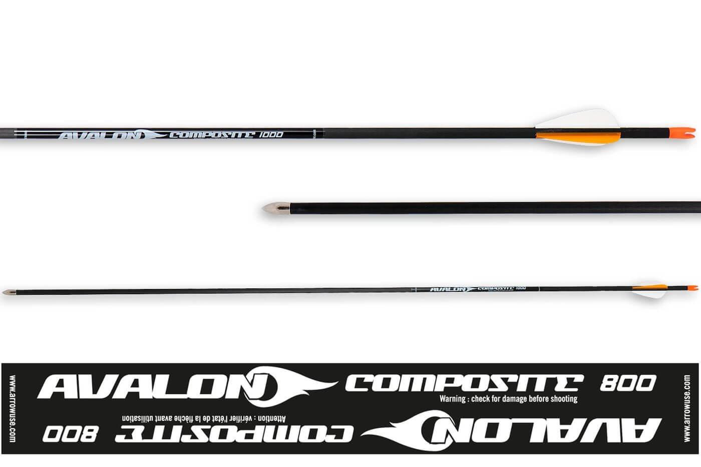Стрела лучная карбоновая Avalon Carbon Composite 800