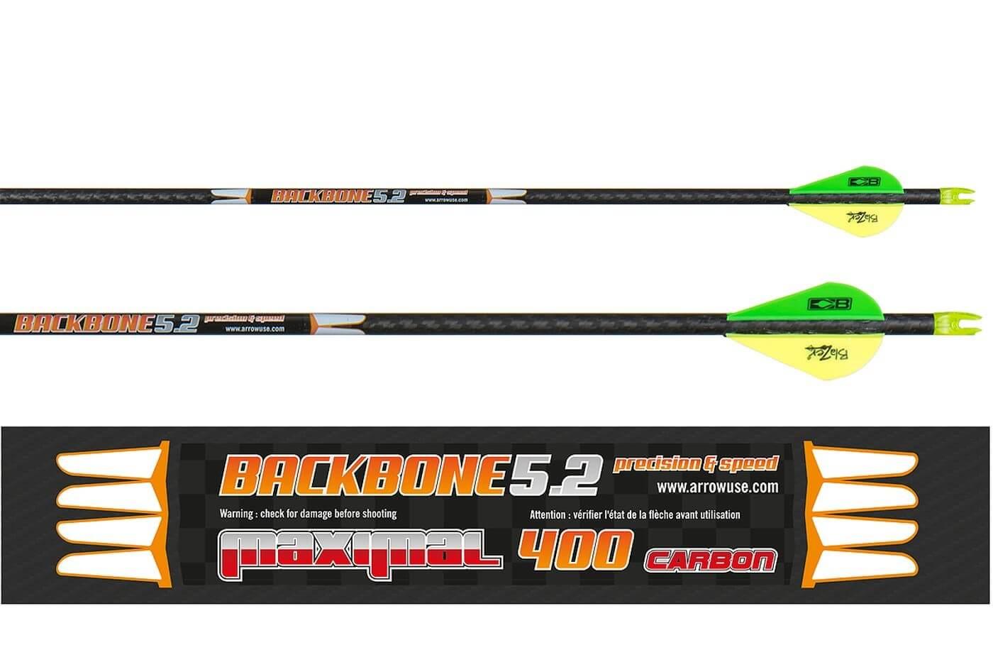 Стрела лучная карбоновая Maximal Backbone 5.2 400