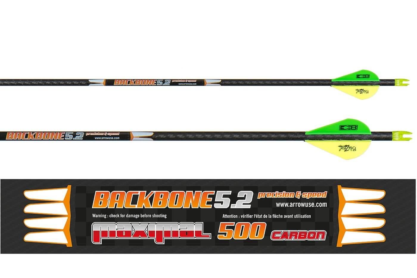 Стрела лучная карбоновая Maximal Backbone 5.2 500
