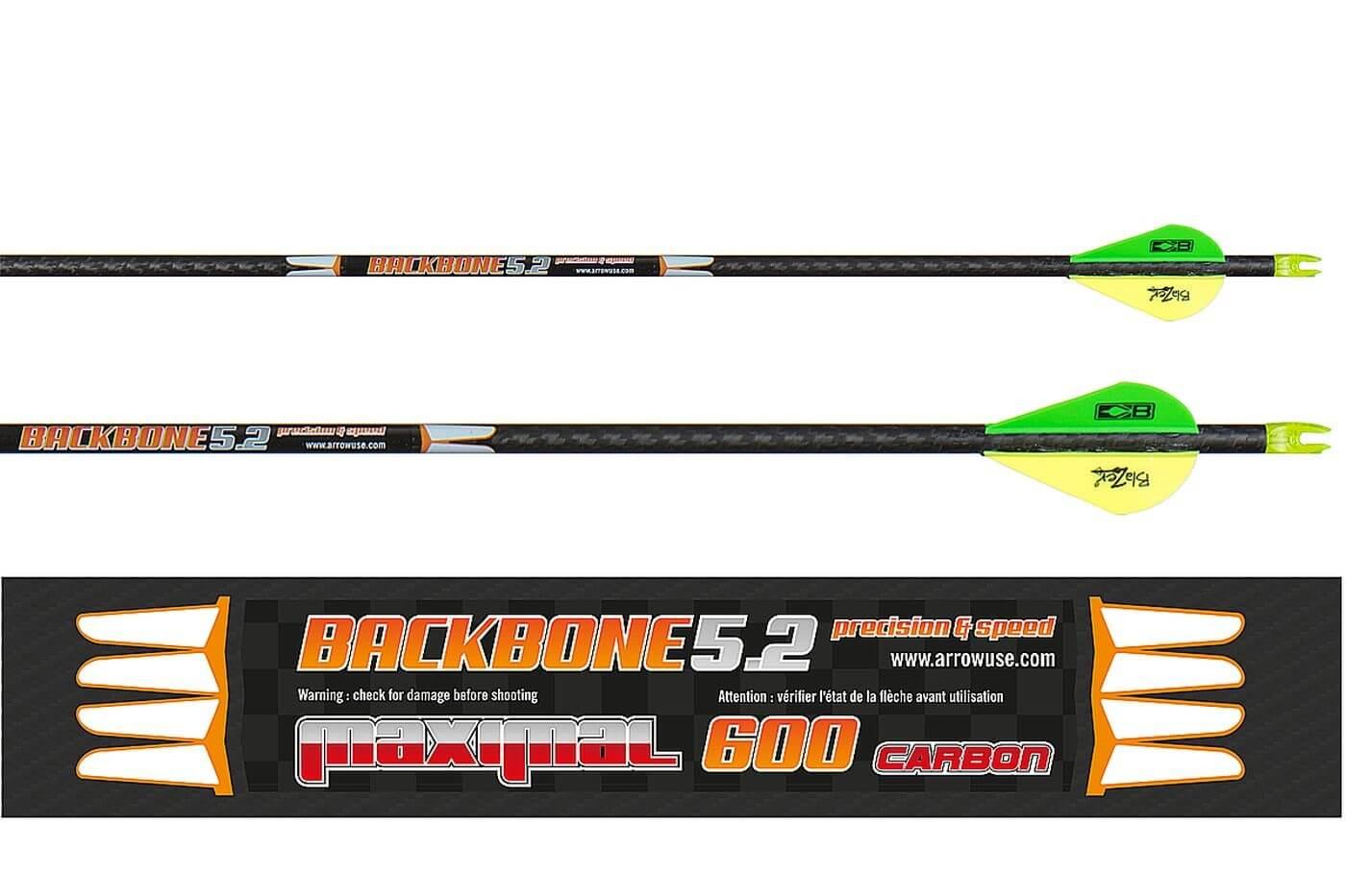 Стрела лучная карбоновая Maximal Backbone 5.2 600