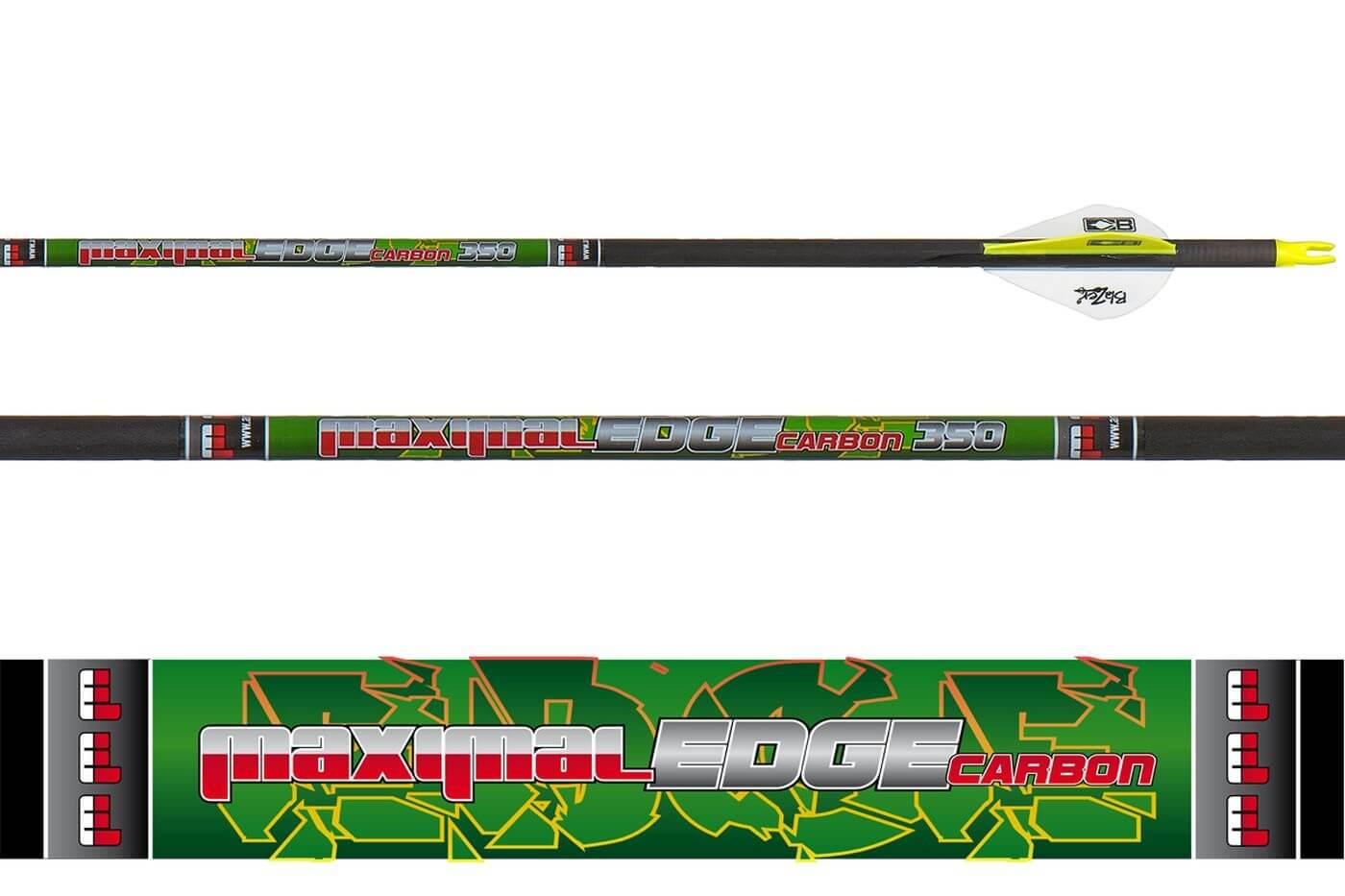 Стрела лучная карбоновая Maximal Carbon Edge 6.2 350