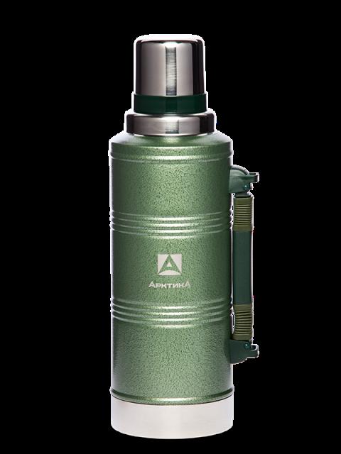 Термос для напитков Арктика 106-2200Р (зелёный)