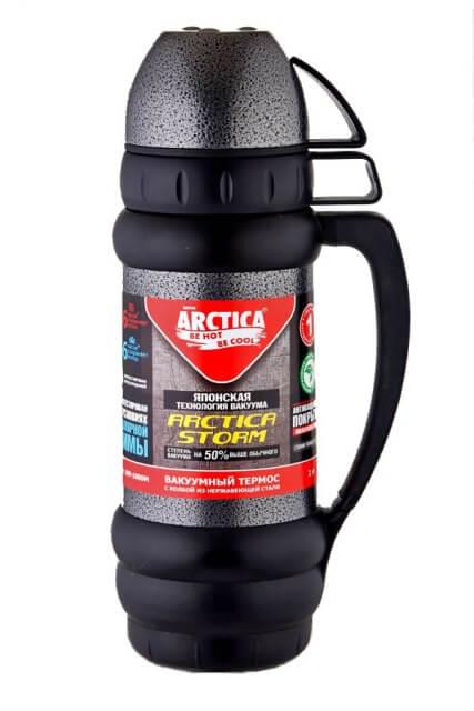 Термос для напитков Арктика 109-1000М (чёрный)