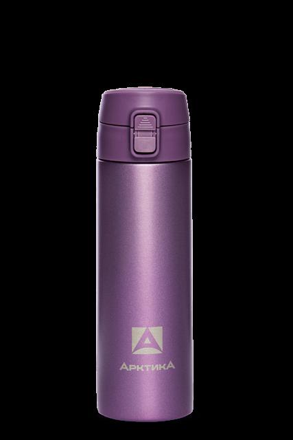 Термос для напитков Арктика 705-500 (фиолетовый)
